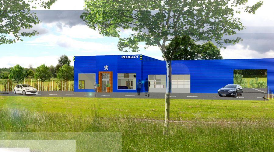 Garage automobile à Pfaffenhoffen